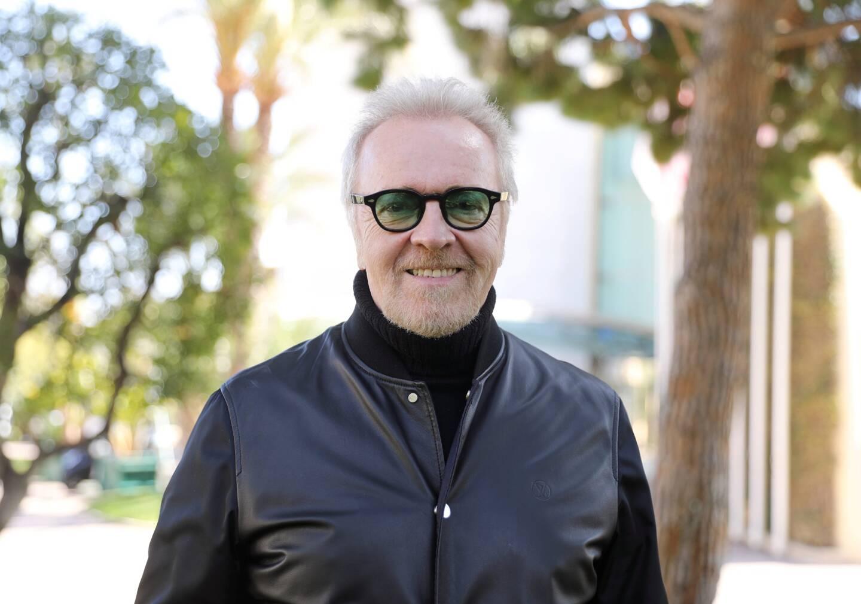 Umberto Tozzi était ce lundi à la salle des étoiles, en préparation de son show.