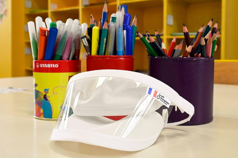 Plus de 2.000 masques ont été distribués afin d'être utilisés dans des temps d'apprentissage déterminés : lecture, phonologie, apprentissage des langues.