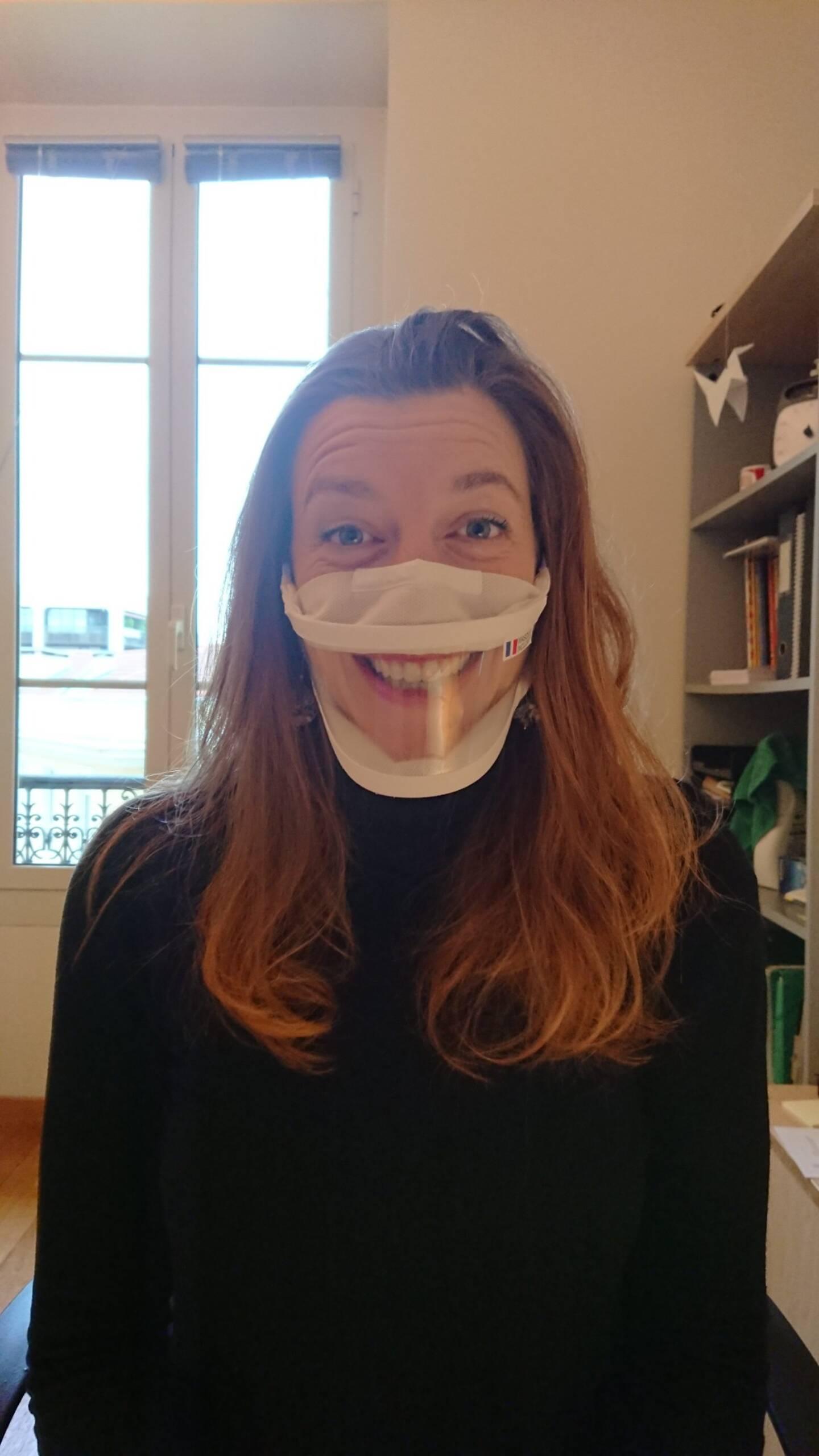 Floriane Aubert, orthophoniste.