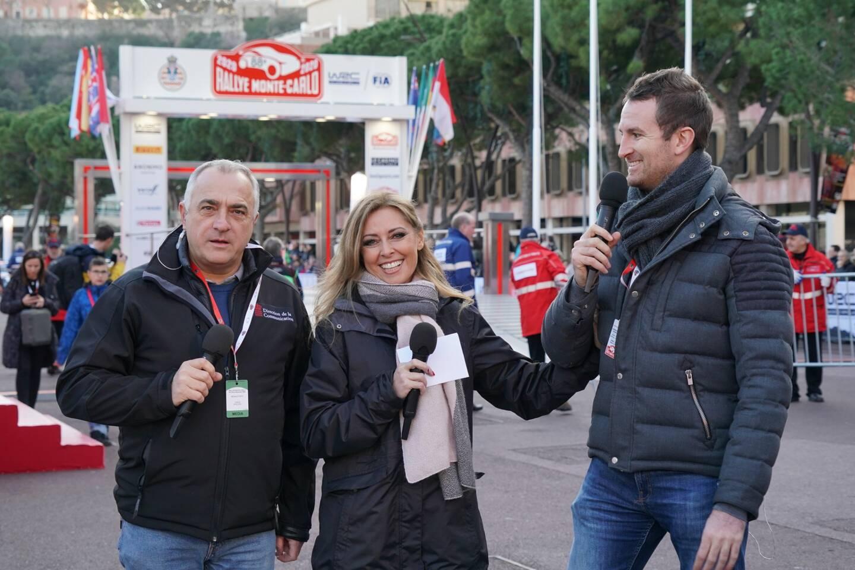 Franck Phillips et Frédéric Hélion feront vivre le rallye pour Monaco Info.