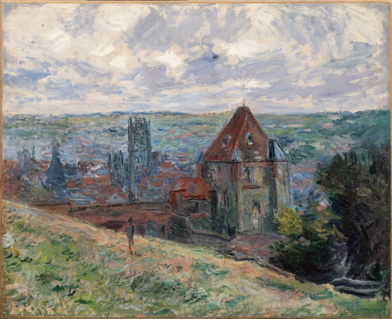 Parmi les lots, une huile sur toile de Claude Monet.