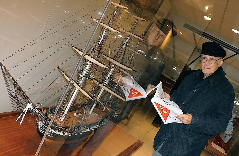 Claude Pallanca a créé le musée naval en 1993 à Fontvieille.