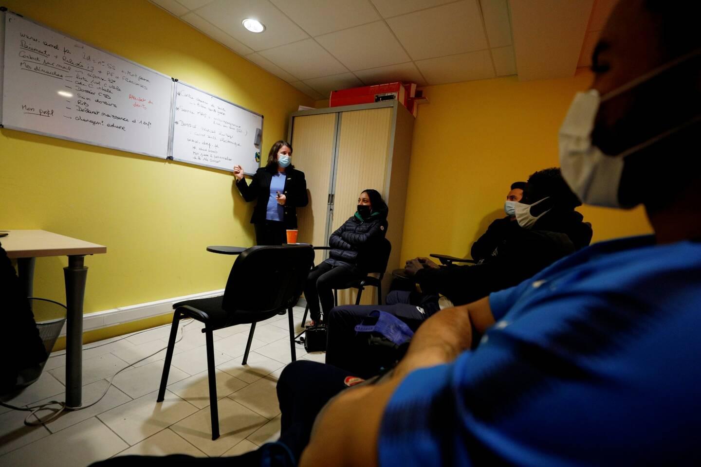 Pour adapter le dispositif aux restrictions sanitaires, l'antenne de Beausoleil de la Mission Locale reçoit les jeunes par plus petits groupes. Car l'essentiel est de maintenir le lien.
