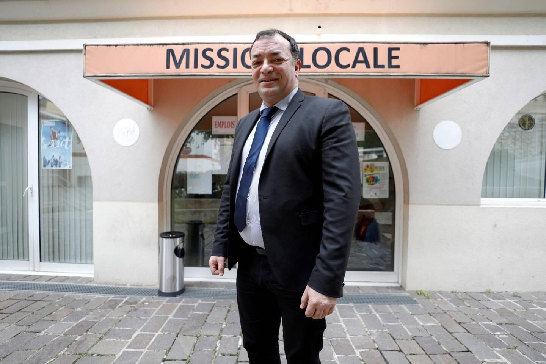 Zied Essid est le directeur de la Mission locale Est 06.