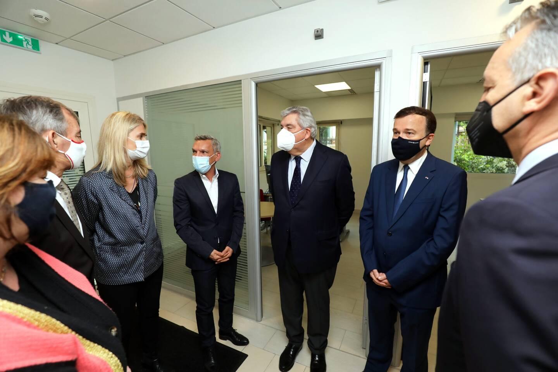 Le ministre d'État, Pierre Dartout, a inauguré les lieux.