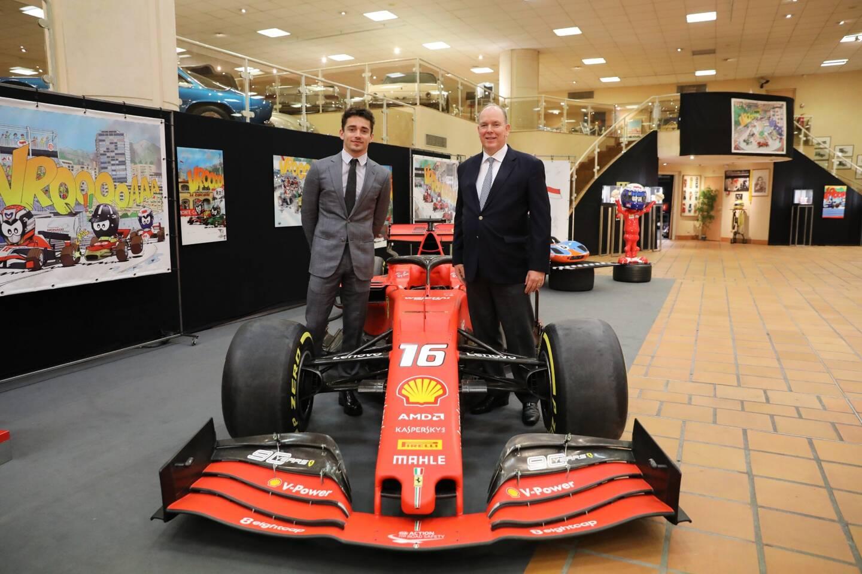 Les visiteurs pourront découvrir la SF90 pilotée par Charles Leclerc lors de la saison 2019.