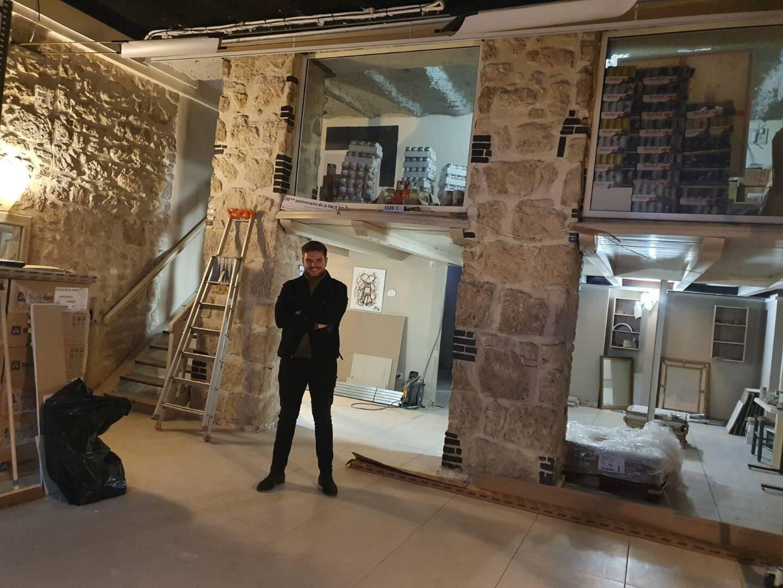 Le chantier du restaurant solidaire devrait être fini « fin février », annonce Amaury Baudoux de la Face 06.