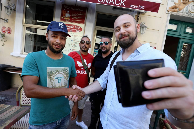 Un sans domicile fixe restitue un portefeuille et 1500euros