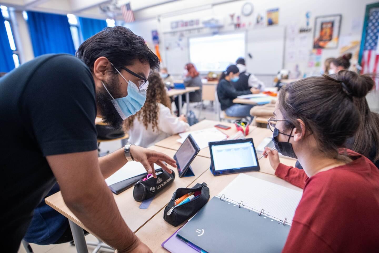 Depuis le mois d'octobre, Umair Mohammed Syed est assistant de langue au lycée Camus à Fréjus.