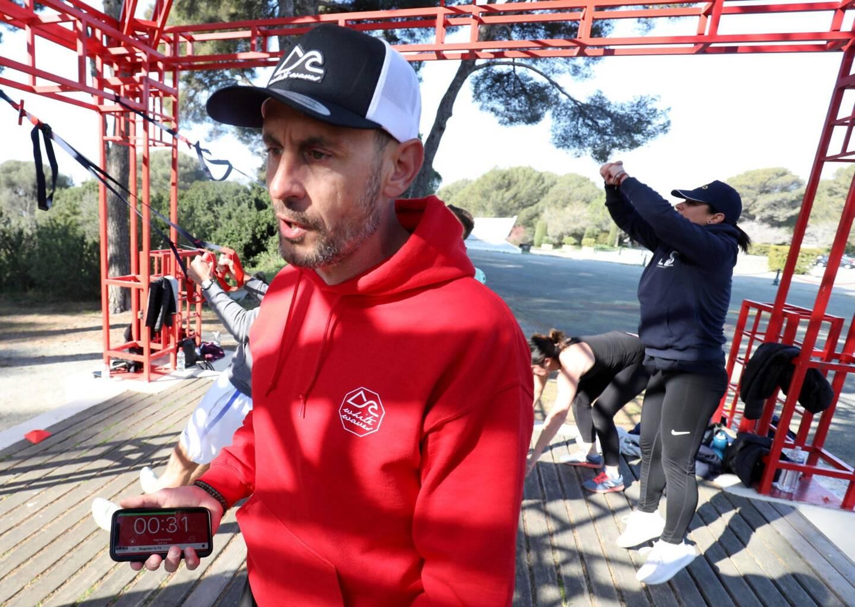 Coach sportif, Benjamin Jactin propose aussi bien des cours payants que des activités gratuites.