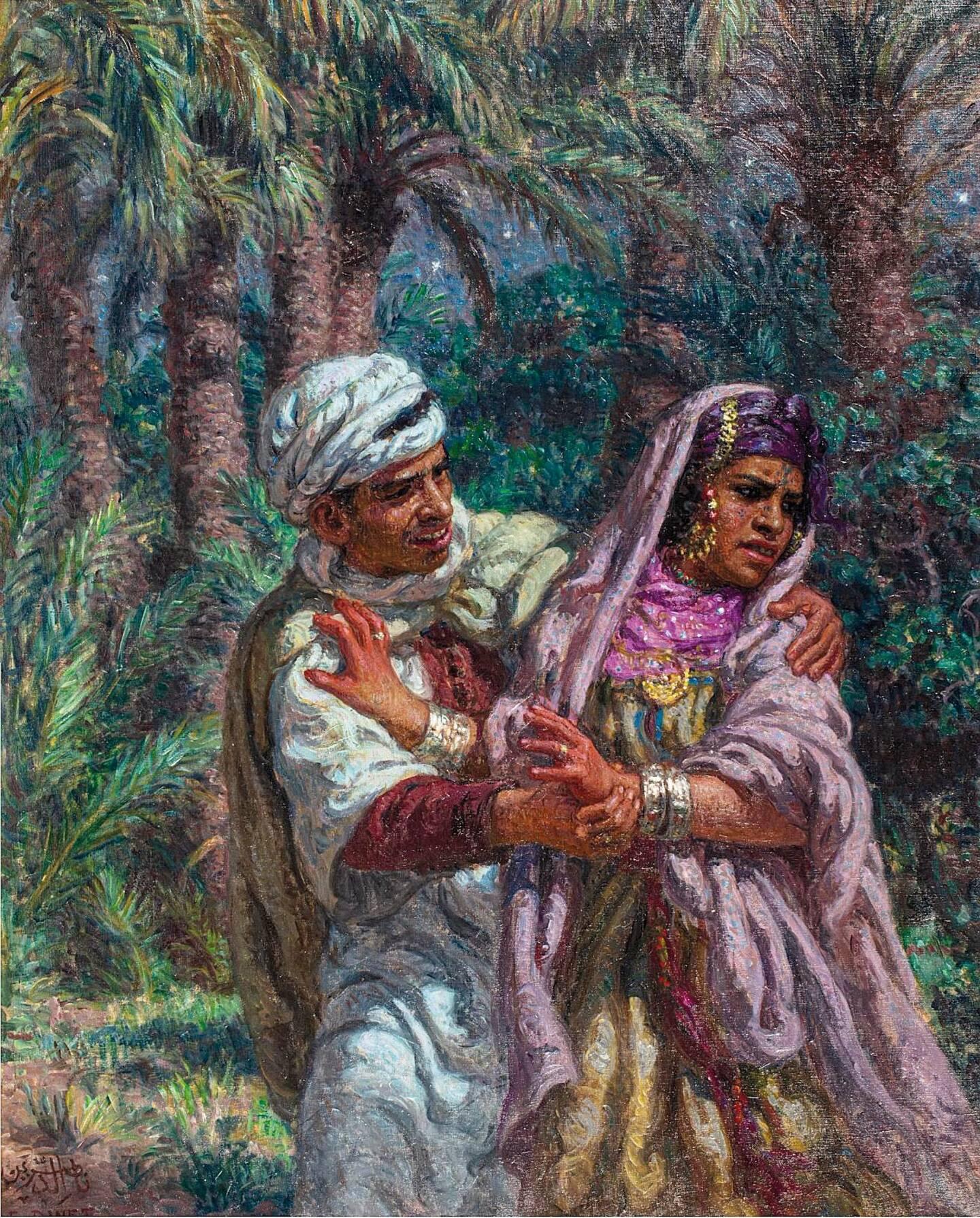 Un tableau orientaliste d'Etienne Dinet, adjugé 126.000 euros.