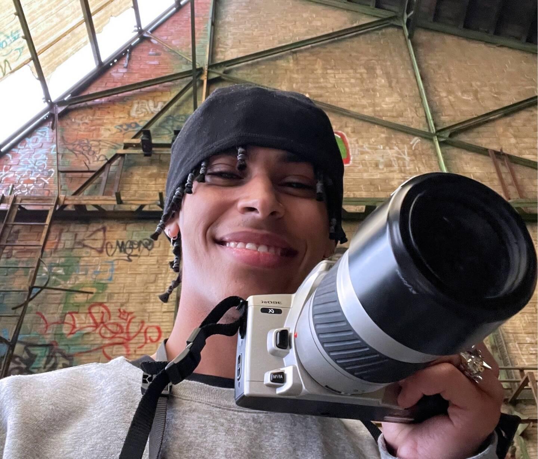 """Ahmed Belhoudi se rêve réalisateur. Pour cause : """"Depuis que je suis au collège, je sais que je veux faire de la vidéo."""""""