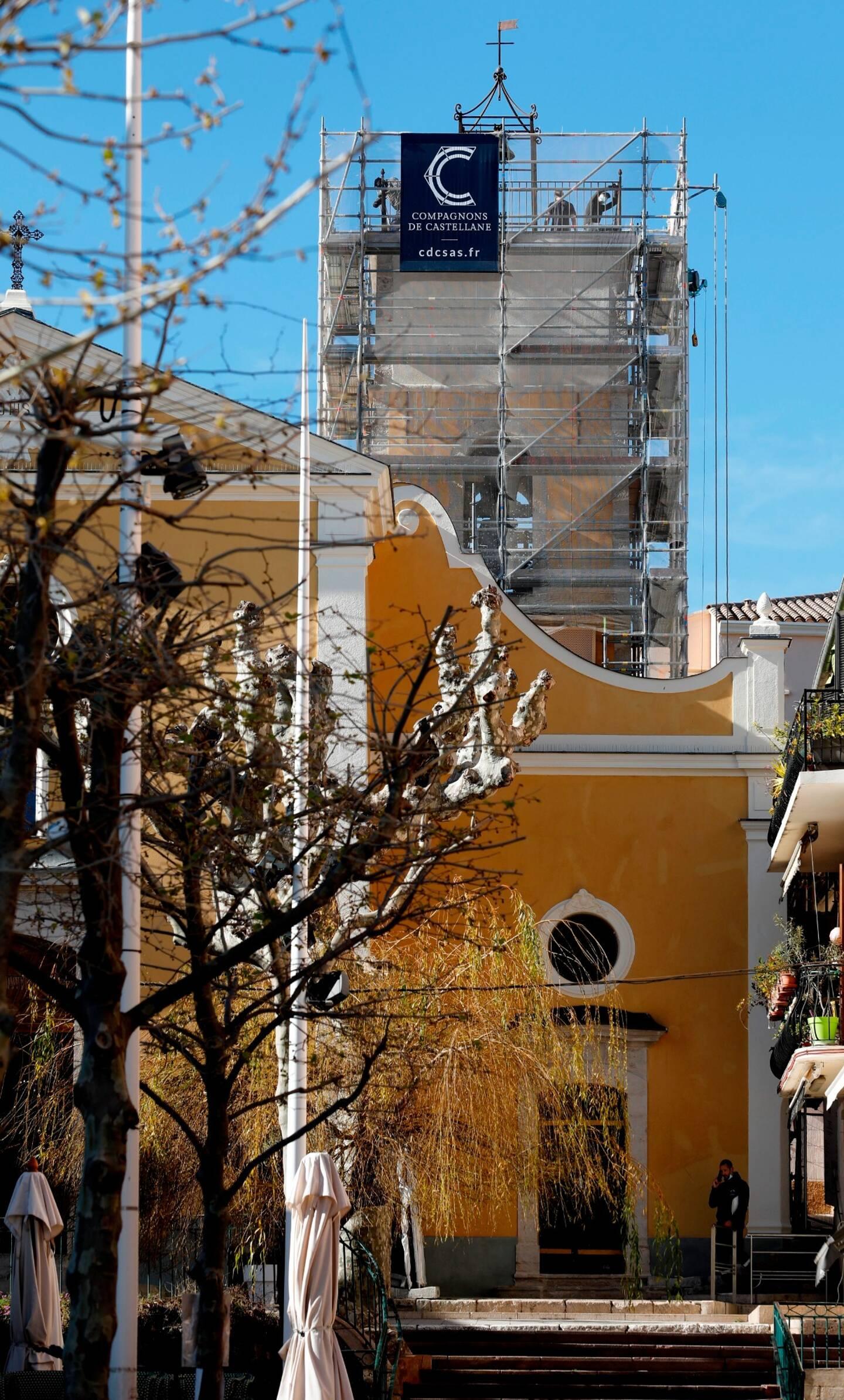 Le coût de la restauration des extérieurs de l'église de Bandol, construite en 1747, est de 308.123 euros (TTC), financés par la commune et des subventions.