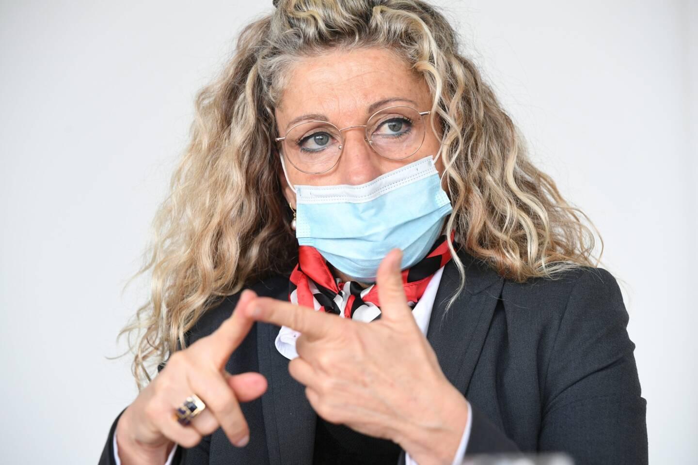 Nathalie Bicais, maire de La Seyne.