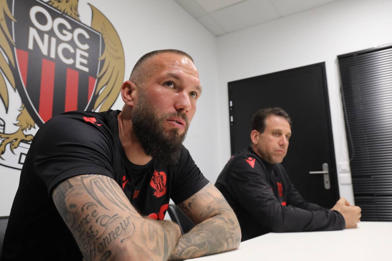 """""""Etre coach, c'est comme en amour, j'aime les joueurs mais parfois je les déteste"""", explique Didier Digard"""