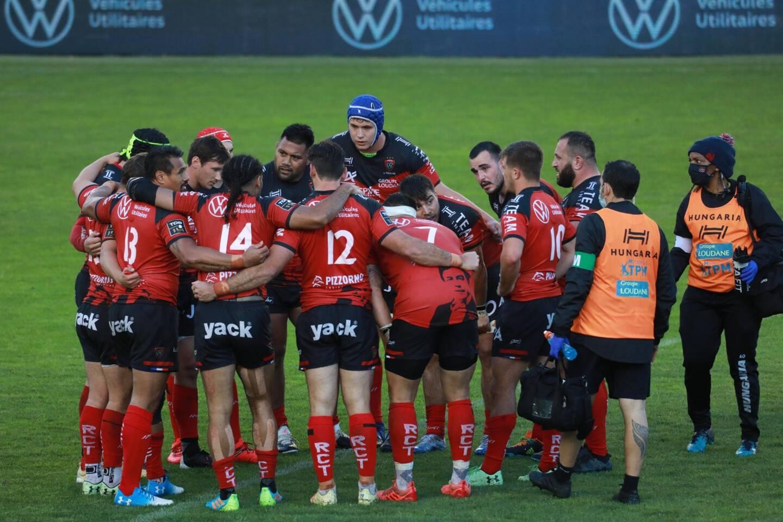 Choc au sommet au stade Mayol où le Rugby Club Toulonnais accueille le leader toulousain samedi à 21 heures devant les caméras de Canal +.