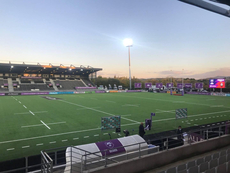 Le stade Maurice-David, théâtre de la finale de Chalenge Cup 2020 entre Toulon et Bristol, servirait de stade d'entraînement.