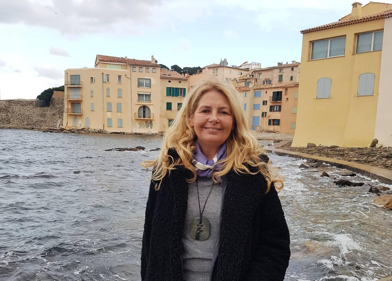 Sylvie Siri, maire de Saint-Tropez (masque ôté pour la photo).