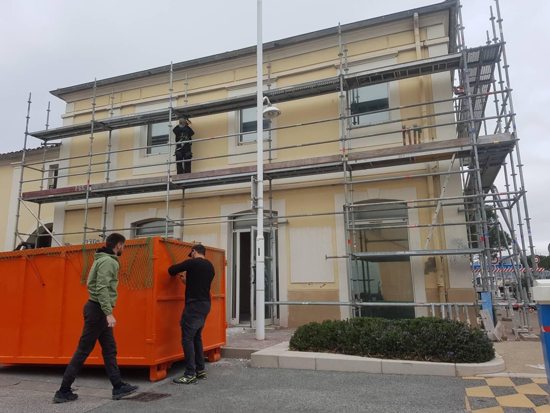 Le chantier Bioestérel devrait être achevé sous trois mois et le ravalement avant la fin de l'été.