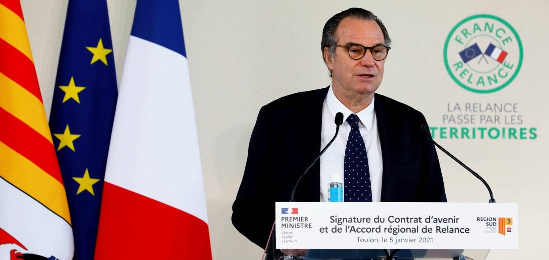 """Renaud Muselier, président de la Région Provence-Alpes-Côte d'Azur: """"Nos concitoyens veulent savoir en quoi ces grands investissements vont changer leur vie""""."""