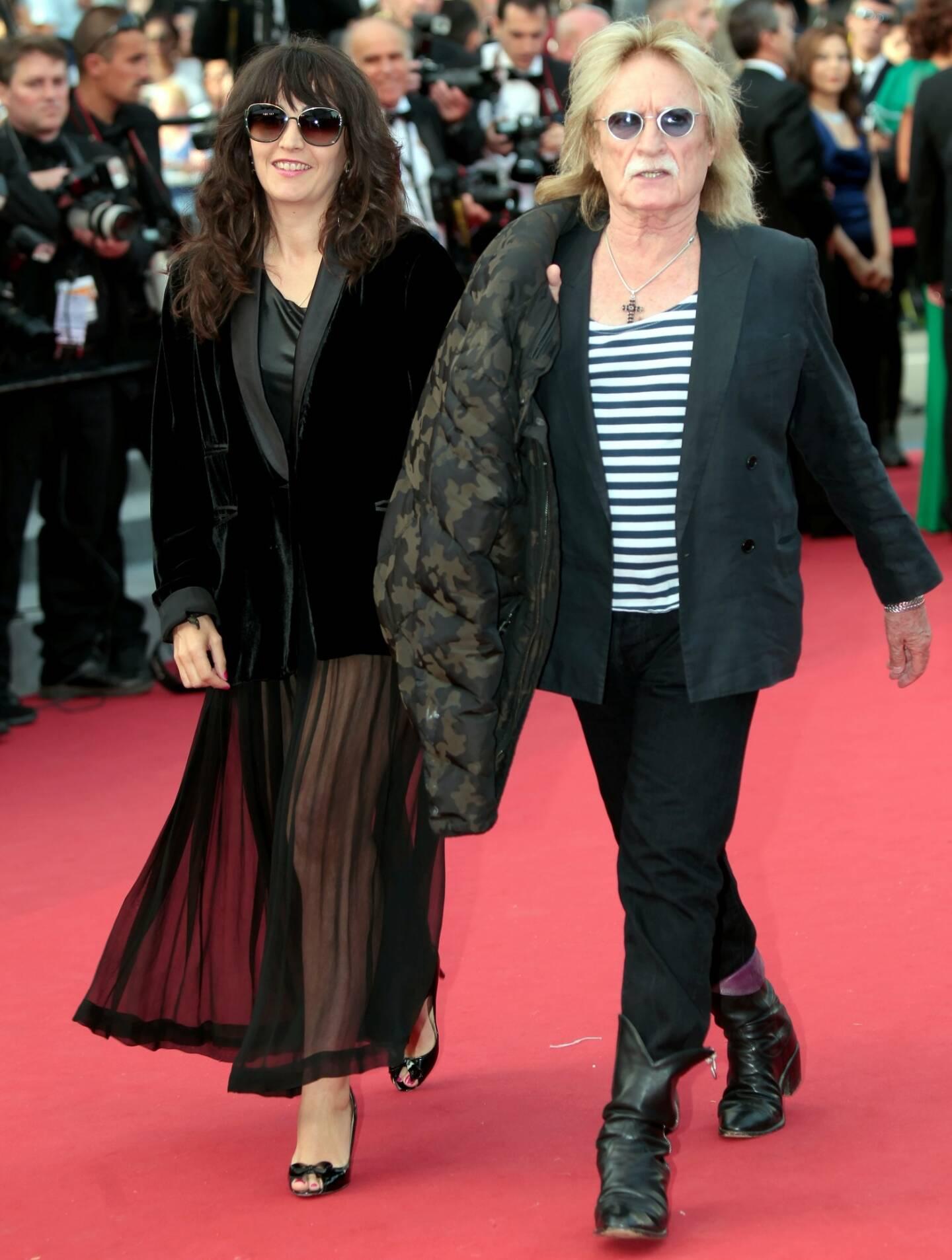 En mai 2015, lors de la montée des marches de la soirée d'ouverture du 68e Festival de Cannes.
