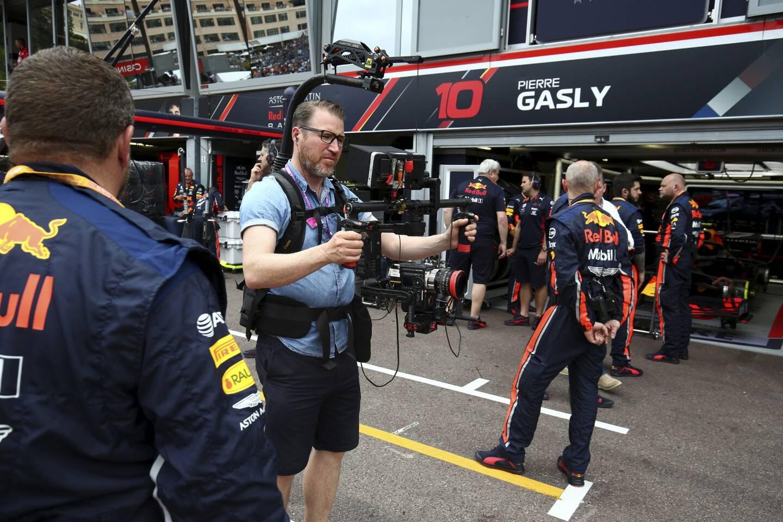 Sur le Grand Prix de Monaco, les équipes de Box to Box Films sont plus nombreuses qu'à l'accoutumée.