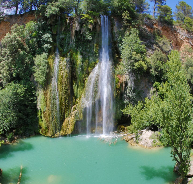 La magnifique cascade du village de Sillans