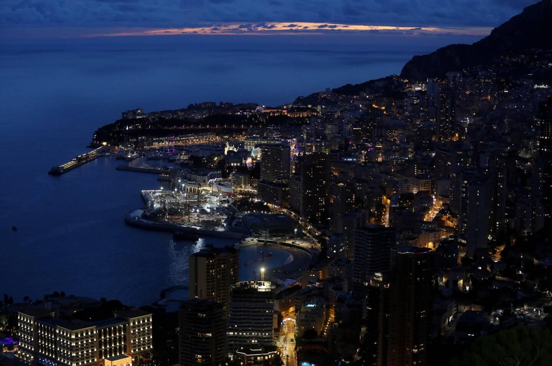 Une vue de Monaco.