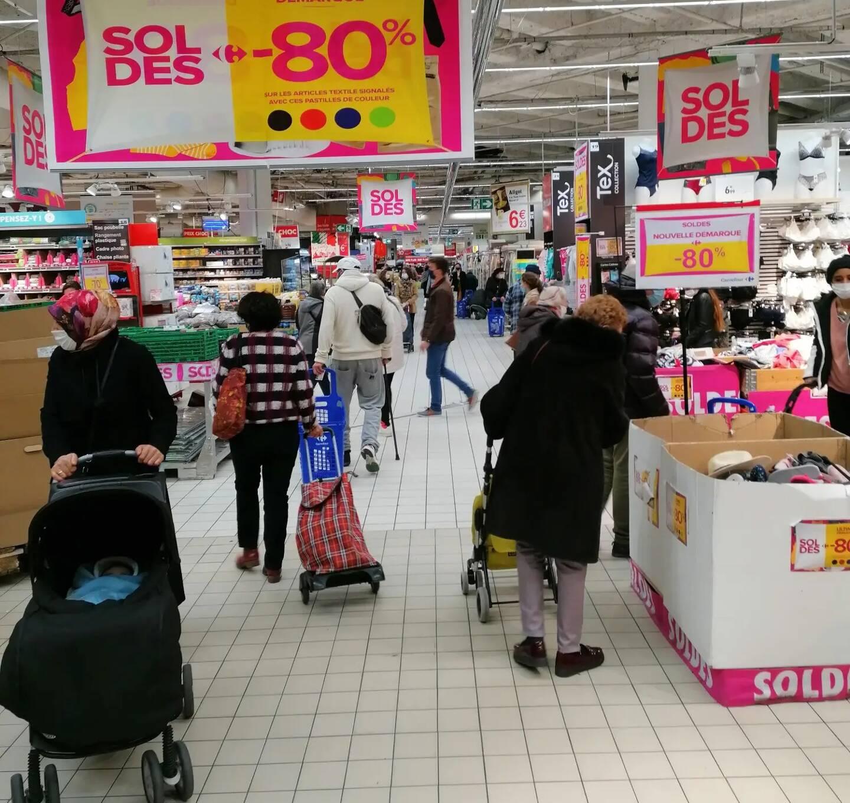 Le magasin Carrefour Mayol sera perturbé par un mouvement social samedi.