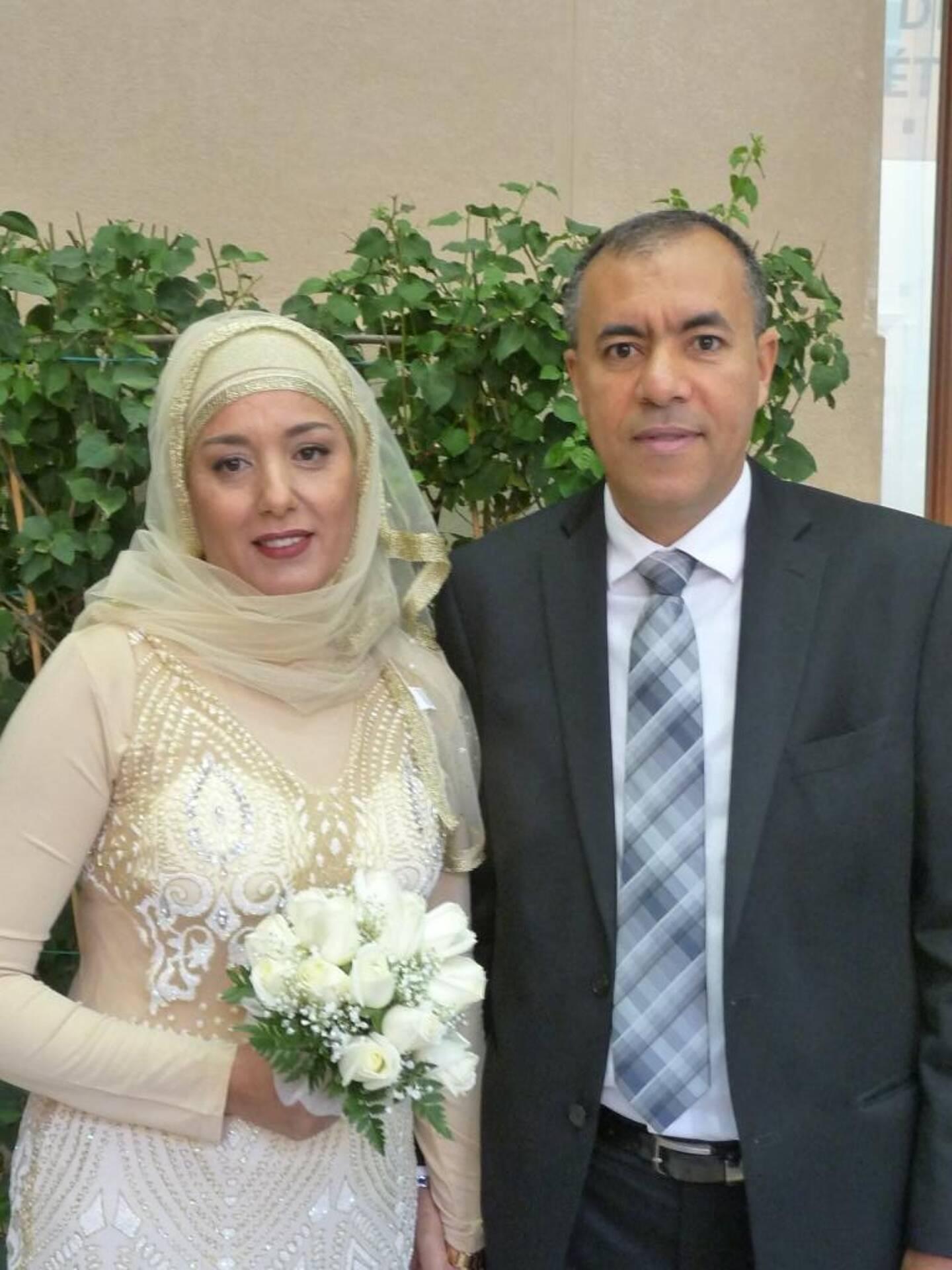 Mabrouka Kahlaoui et Fayçal Riahi, électricien