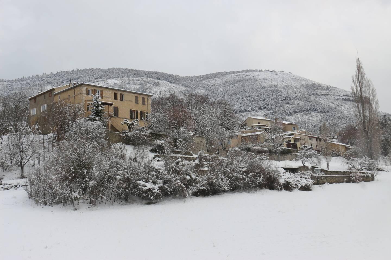 Neige à La Bastide
