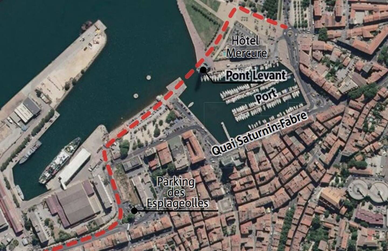 Si le projet prend forme, la circulation devrait être redirigée ainsi, libérant le du trafic routier.
