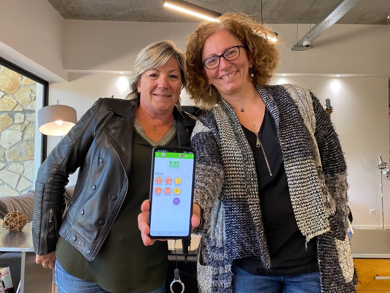 Sandra Beraudo et Isabelle Legrand ont monté leur startup après avoir remporté un concours interne du Groupe La Poste.