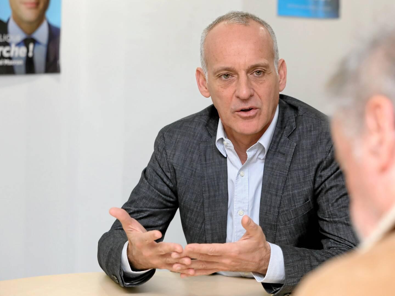 Loïc Dombreval, député de la 2e circonscription des Alpes-Maritimes.