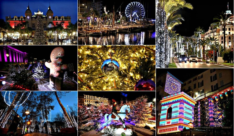 De Monaco à Toulon en passant par Nice et Cannes, les villes de la Côte d'Azur et du Var ont revêtu leurs habits de lumières pour Noël.
