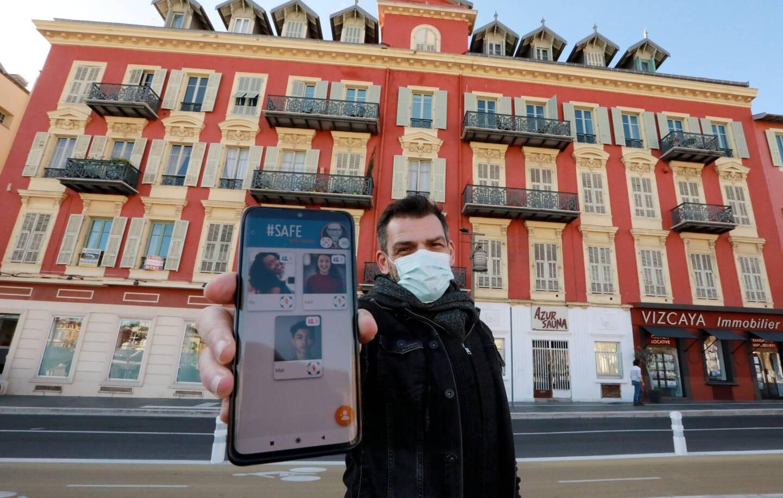 Patrice Pistone a développé l'appli, au départ, pour sa famille. Elle est désormais disponible sur iPhone et Android.