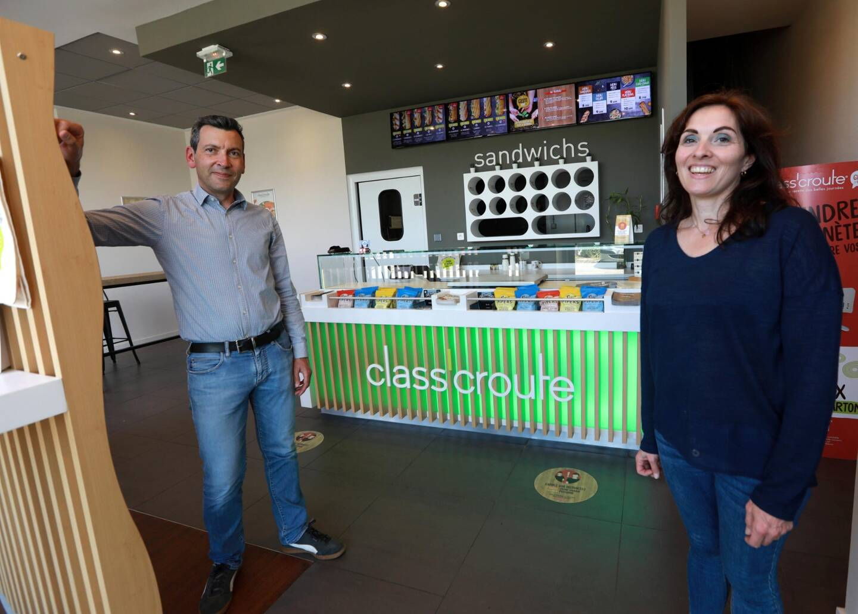Comme leurs confrères de la restauration, Stéphanie et Rémi Serurier ont dû faire preuve d'inventivité pour proposer de nouveaux services à leurs clients, toujours en accord avec leurs valeurs écoresponsables.