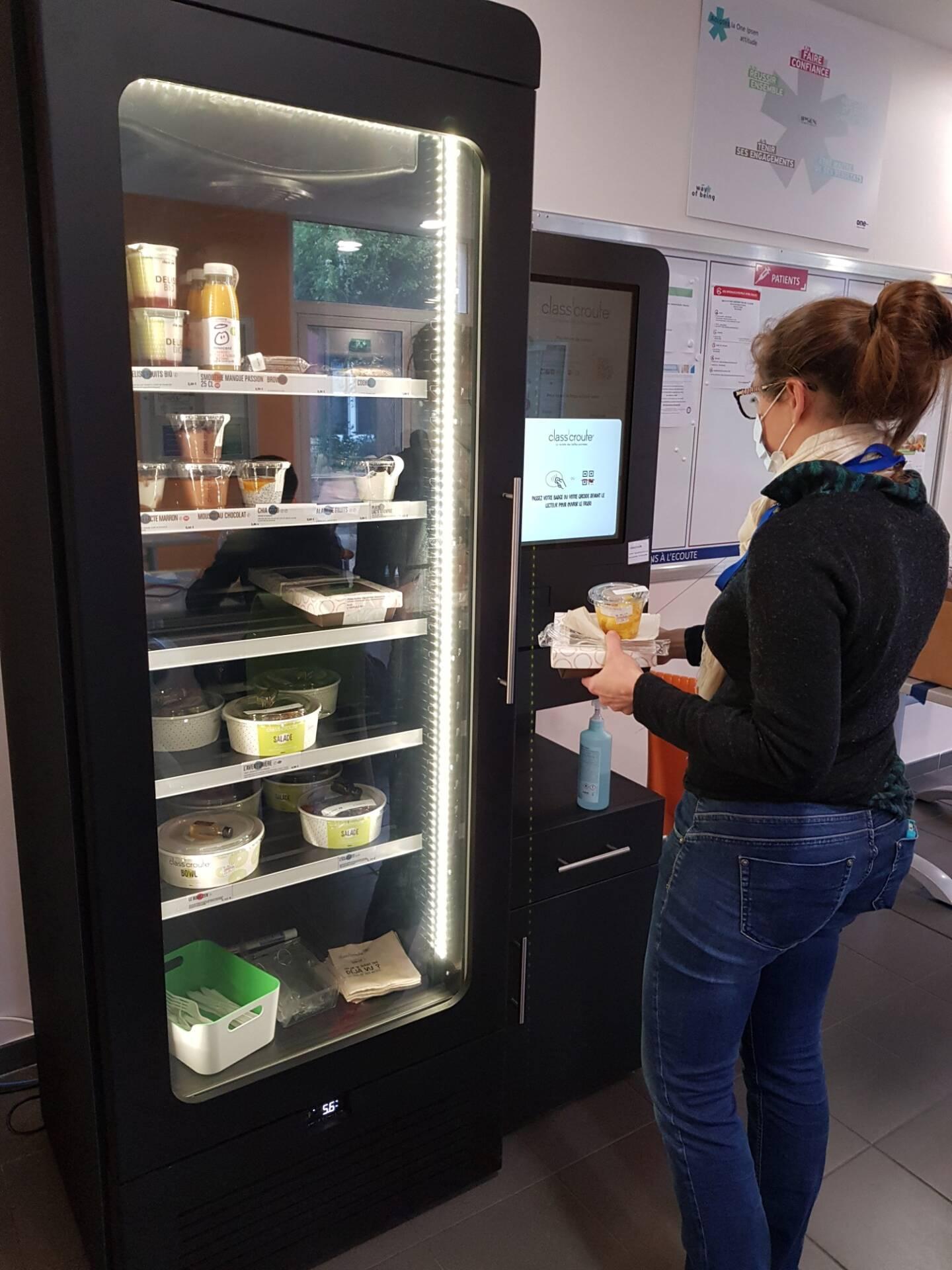 Le groupe Ipsen à Signes s'est doté depuis quelques semaines d'un frigo connecté pour proposer repas frais et équilibrés à ses collaborateurs.