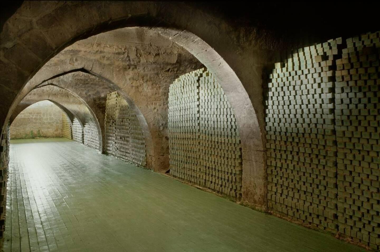 Le caravansérail qui abritait la savonnerie située dans la vieille ville d'Alep a été entièrement restauré par Tadé.