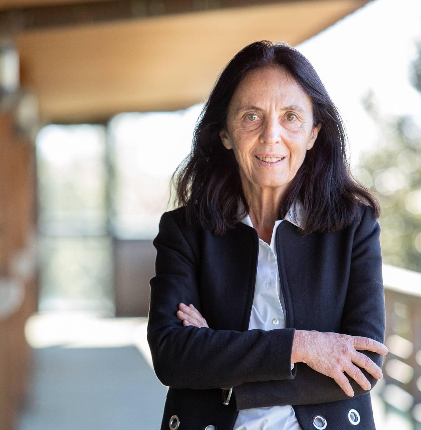 Odile Hembise Fanton d'Andon est diplômée d'un master en mathématiques et mécanique appliquée de l'UNSA, titulaire d'un DEA de l'Ecole des Mines de Paris, et d'un doctorat de l'UPMC-Paris VI.