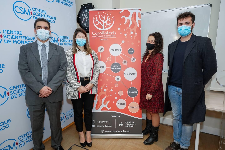 C'est par hasard que le docteur en biologie Rachid Benchaouir (à gauche sur la photo) a découvert les propriétés insoupçonnées des molécules coralliennes. La startup Coraliotech est née et avec elle, beaucoup d'espoir en santé et beauté.