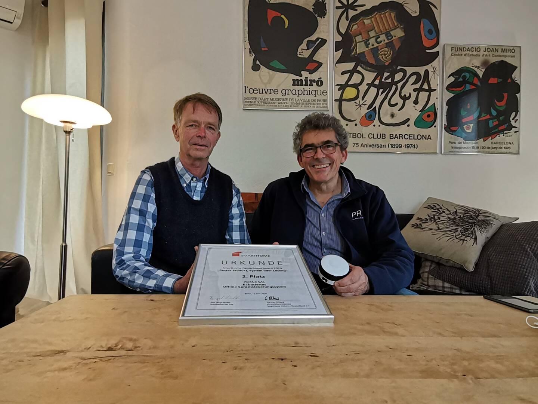 Les fondateurs de ProKNX, startup basée à Sophia Antipolis, ont remporté un Award en Allemagne au concours Smart-Home en 2020 pour leur première innovation.