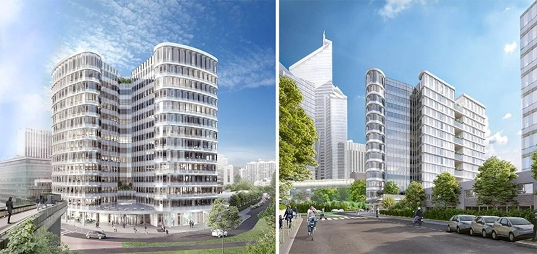 La Tour Eria à Paris La Défense où ouvrira le Campus Cyber.