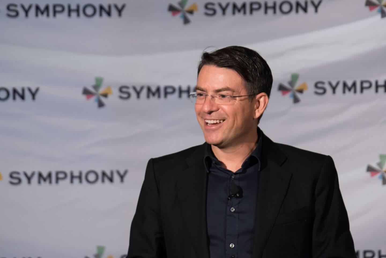 """""""La crise de la Covid a été un accélérateur de business pour Symphony"""", estime son fondateur et dirigeant David Gurlé qui s'est vu décerner le prix spécial du jury des Trophées de l'Eco Nice-Matin en décembre dernier."""