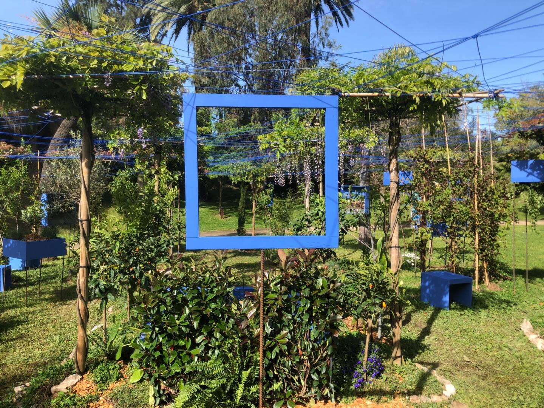 """C'est le jardin """"Complantation/Contemplation"""", installé dans les jardins de la Villa Rotschild à Cannes, et réalisé par Catherine Baas et Christophe Tardy, qui a reçu la consécration suprême du festival : le Prix du Jury, assorti d'un chèque de dix mille euros."""