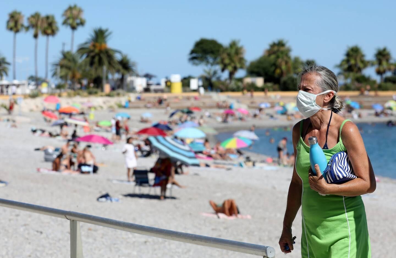 Dans le Var, le port du masque demeure obligatoire sur les plages comme dans le reste de l'espace public.