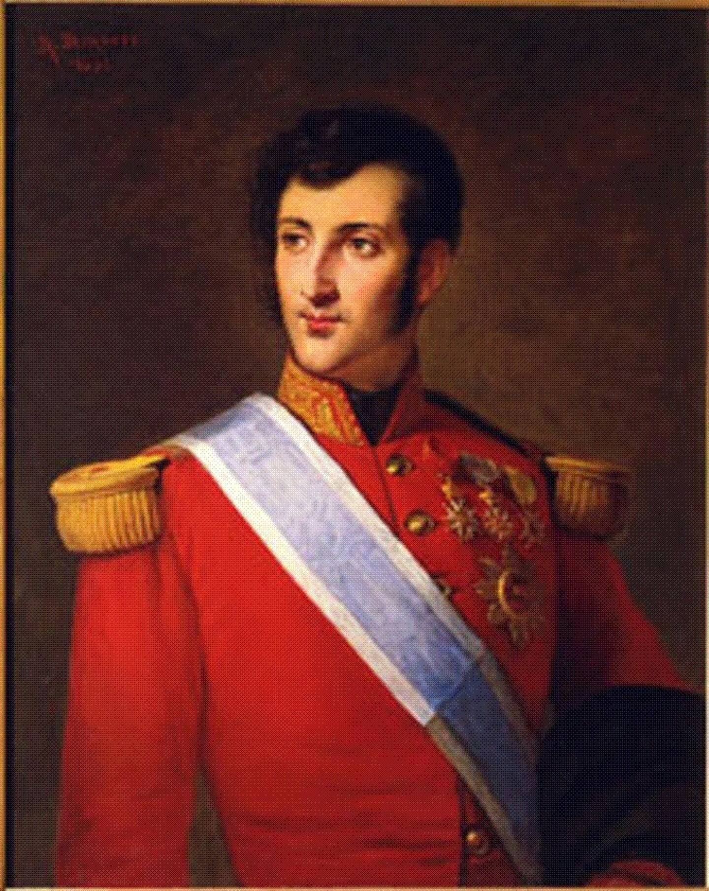 Honoré V, prince de Monaco.