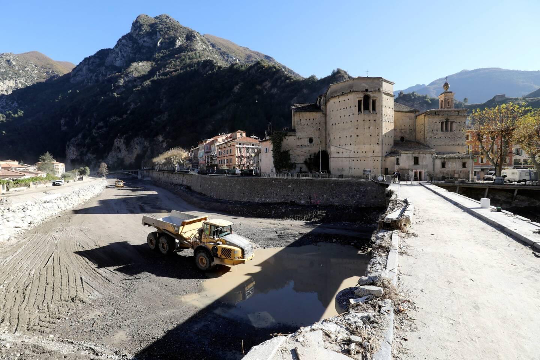 Le Smiage réalise des travaux dans la Roya depuis le lendemain de la tempête.