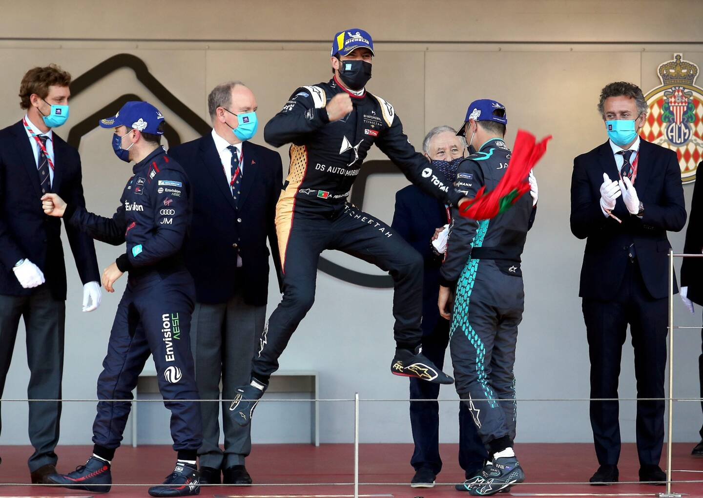 Antonio Felix Da Costa a remporté le 4e Monaco E-Prix ce dimanche.