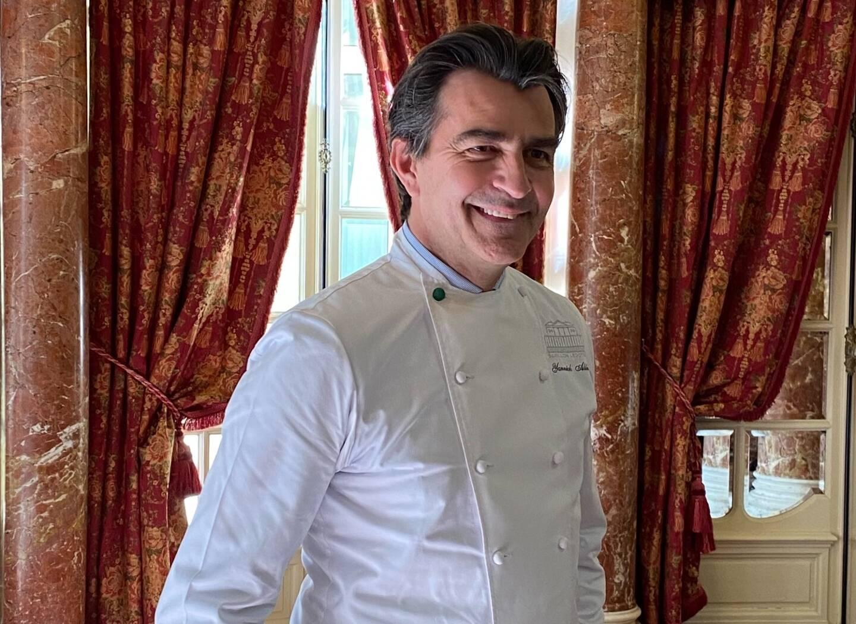 Yannick Alléno prendra les rênes du restaurant Vistamar en avril.